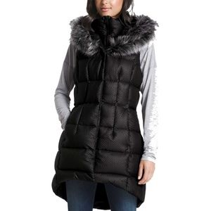 NORTH FACE HEY MAMA PARKA VEST PUFFER COAT XS